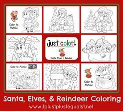Christmas-Coloring-...Santa-Elves-an