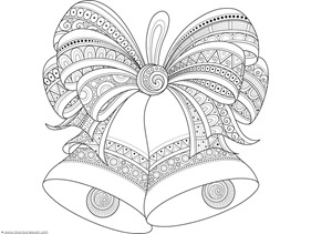 christmas doodle coloring pages for adults | Christmas Doodle Coloring Pages - 1+1+1=1
