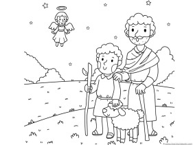 Christmas Nativity Coloring (4)