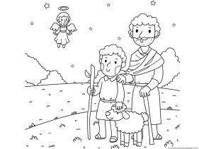 Christmas Nativity Coloring (4)