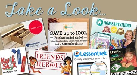 Homeschool Blog Sponsors December