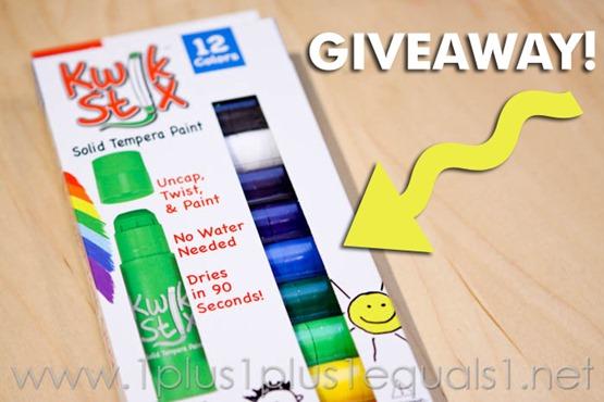 Kwik Stix Giveaway