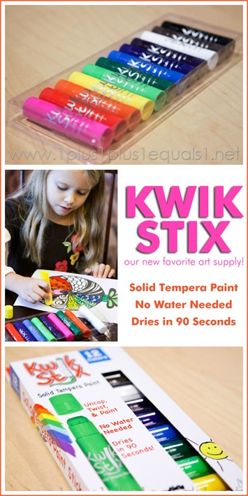 Kwik Stix Solid Tempera Paint