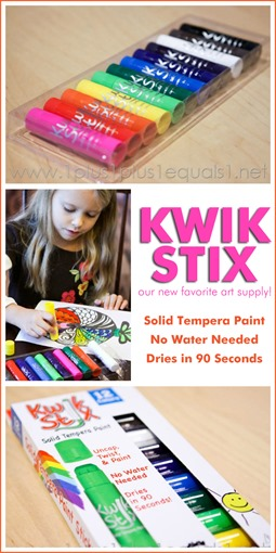 Kwik Stix Solid Tempera Paint