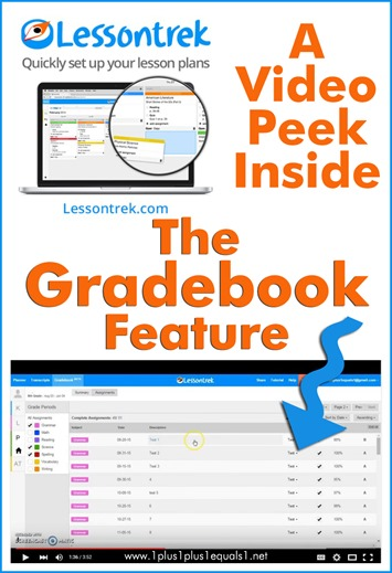 Lessontrek Gradebook Feature Review