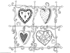 Heart Coloring (2)