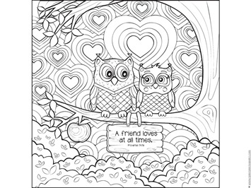 Love Bible Verse Coloring Pages - 1+1+1=1