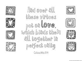 Love Bible Verse Coloring (5)