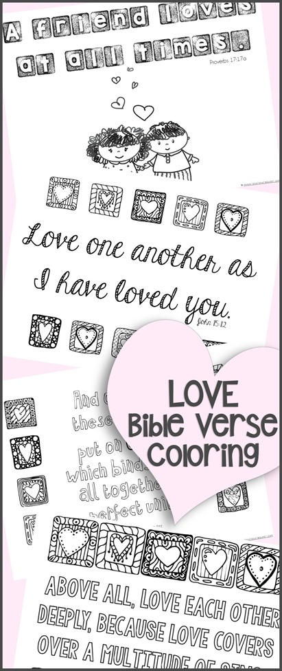 Love Bible Verse Coloring Pages 111 1