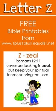 RLRS Letter Z Romans 12 Bible Verse Printables