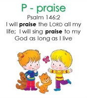 Raising Lil' Rock Stars Letter P for Praise