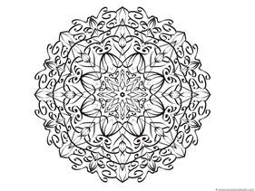 Snowflake Coloring