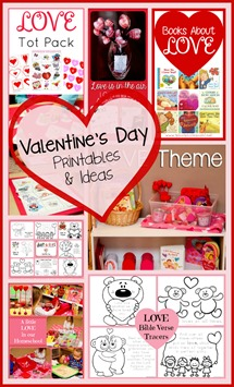 Valentine's Day Printables and Ideas
