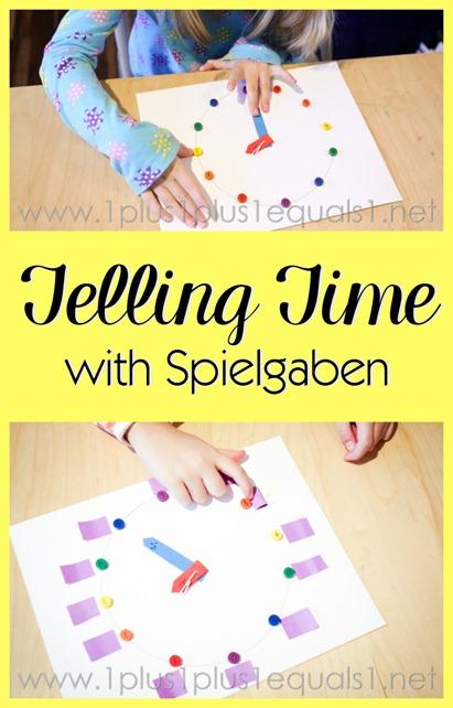 Create a Clock with Spielgaben