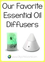 Favorite Essential Oil Diffusers