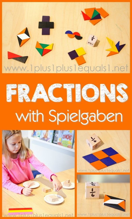 Exploring fractions with Spielgaben