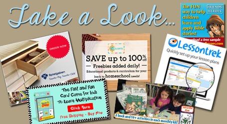 Homeschool Blog Sponsors Mar 2016