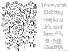 Spring Bible Verse Coloring Pages 1 1 1 1