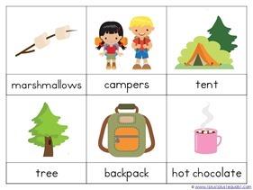 Camping Theme Preschool Printables  (13)
