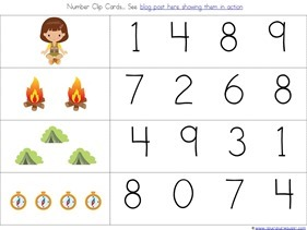 Camping Theme Preschool Printables  (20)