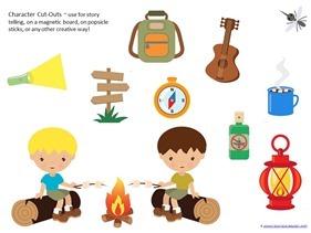 Camping Theme Preschool Printables  (23)
