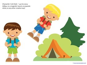 Camping Theme Preschool Printables  (24)