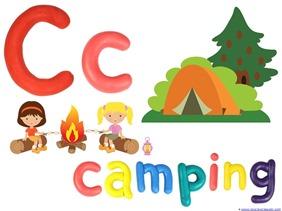 Camping Theme Preschool Printables  (4)