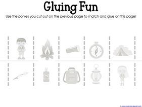 Camping Theme Preschool Printables  (6)