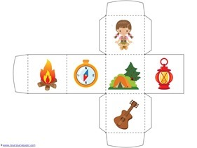 Camping Theme Preschool Printables  (8)