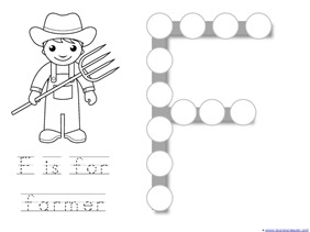 Community Helper Dot Fun Printables 1111