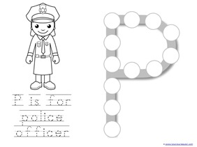 Community Helpers Printables (7)