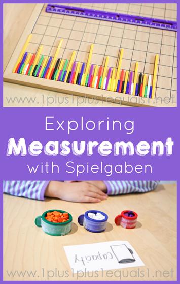 Exploring Measurement with Spielgaben