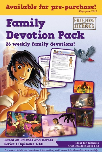 Friends and Heroes NEW Family Devotion Pack