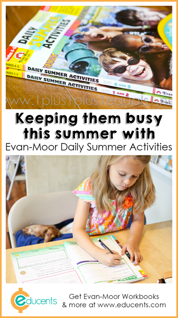 Evan-Moor Daily Summer Activities