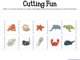 Ocean Animals Preschool Printables (7)