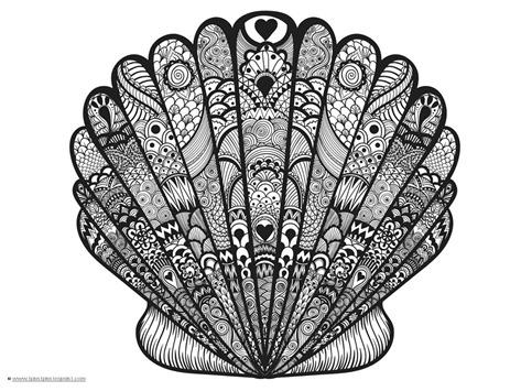 Seashell Coloring (7)
