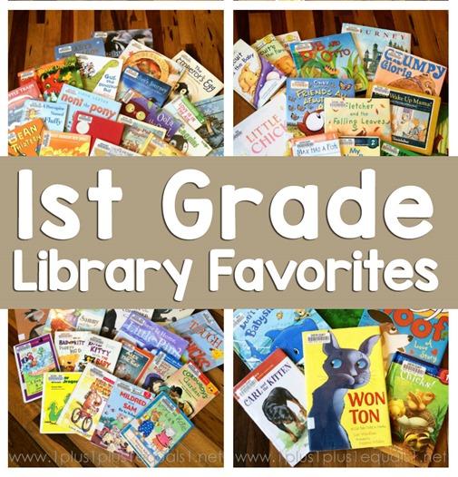 1st Grade Library Book Favorites fb