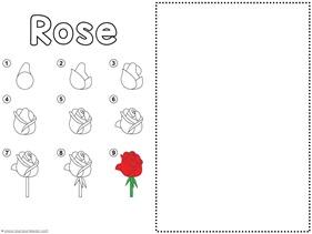 Flower Drawing Tutorials (4)