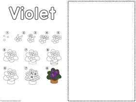 Flower Drawing Tutorials (5)