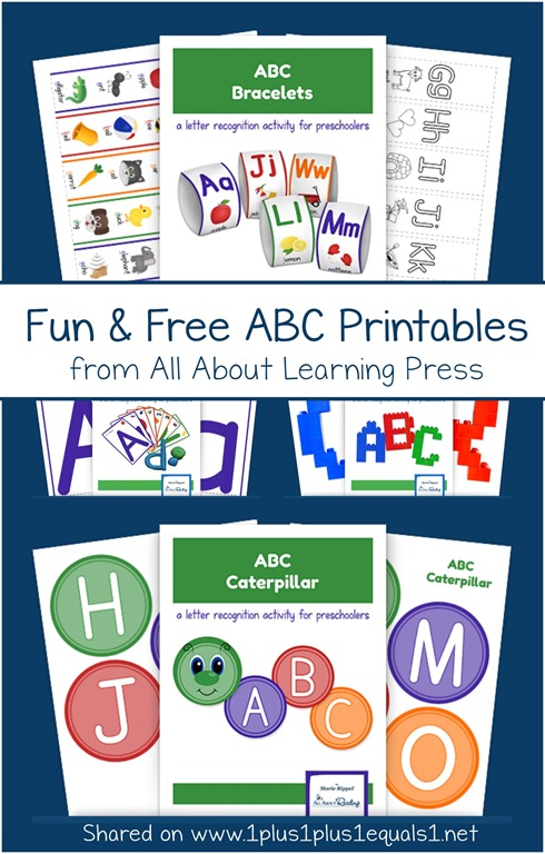 fun and free abc printables   fun and free abc printables from all about learning press