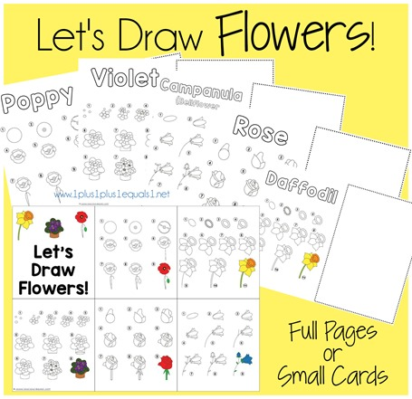 Let's Draw Flowers
