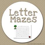 Letter Mazes