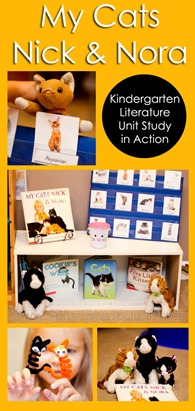 My Cats Nick and Nora Kindergarten Literature Unit In Action