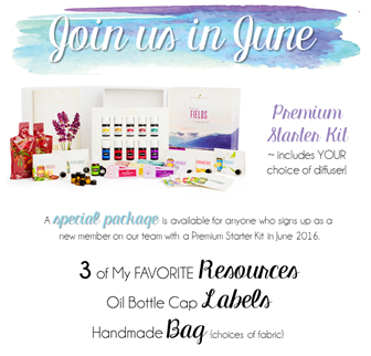 New Member Welcome Gift June 2016