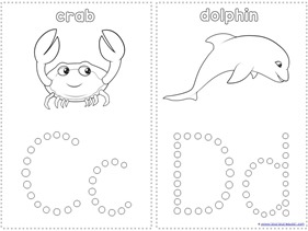 graphic about Q Tip Painting Printable referred to as Ocean Pets Q-Suggestion Portray Printables - 1+1+1\u003d1