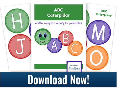 Printable ABC Caterpillar