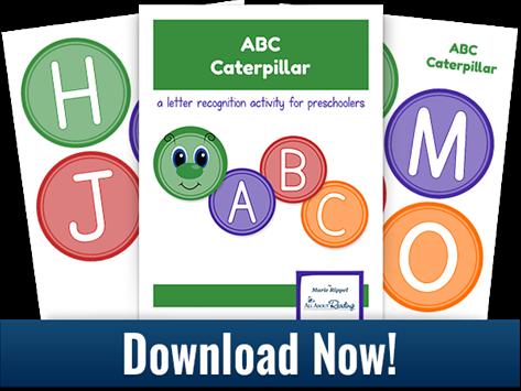 Printable ABC Caterpillar