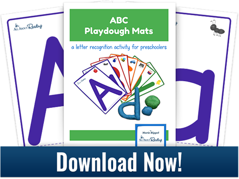 Printable ABC Playdough Mats