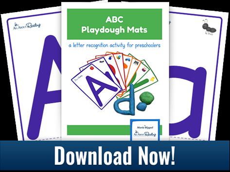 Printable ABC Playdough Mats
