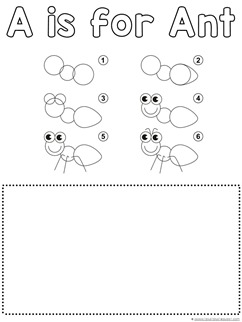 Ant Drawing Tutorial